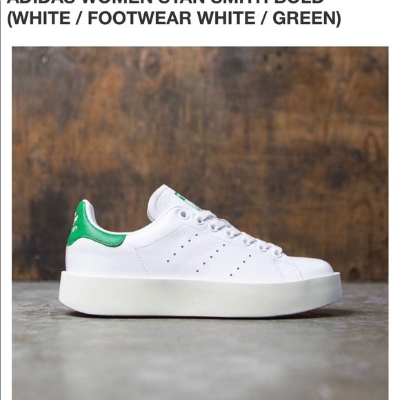 adidas Shoes Stan Smith Bold Leather